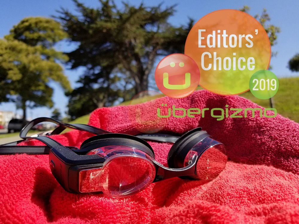 Form Schwimmbrille mit AR-Display Review
