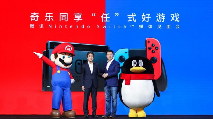 Nintendos Switch Spielekonsole startet endlich in China - Variety 1