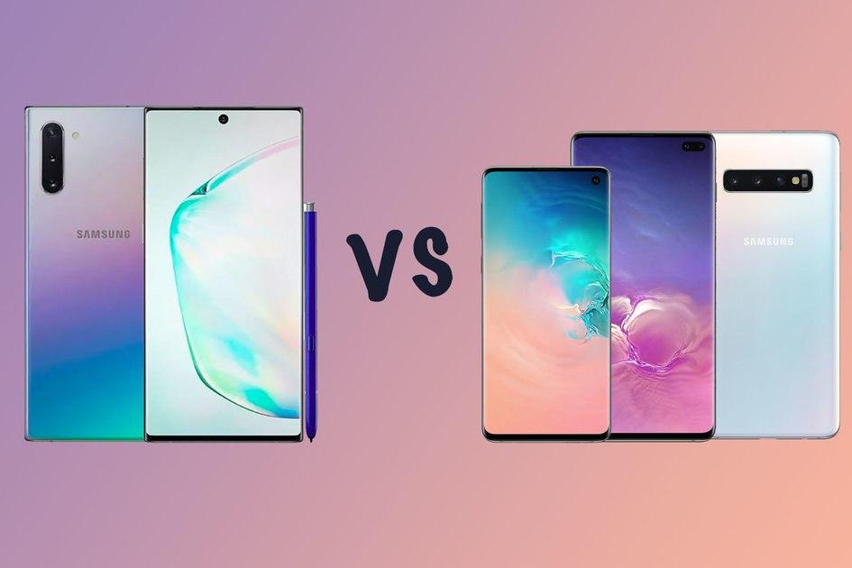 Samsung Galaxy Note  10 vs Galaxy S10: Was ist der gemunkelte Unterschied?