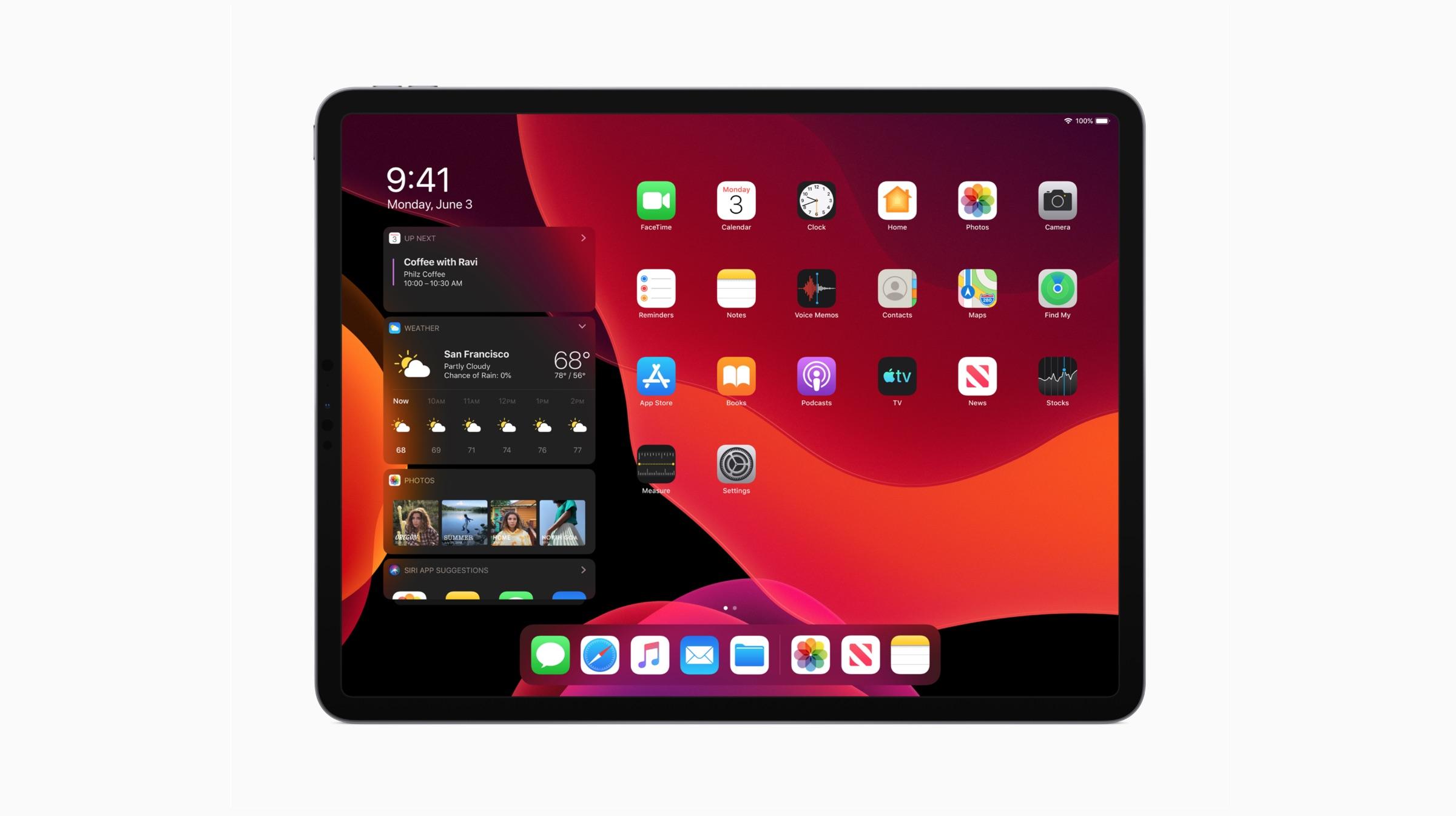 iPad OS 13