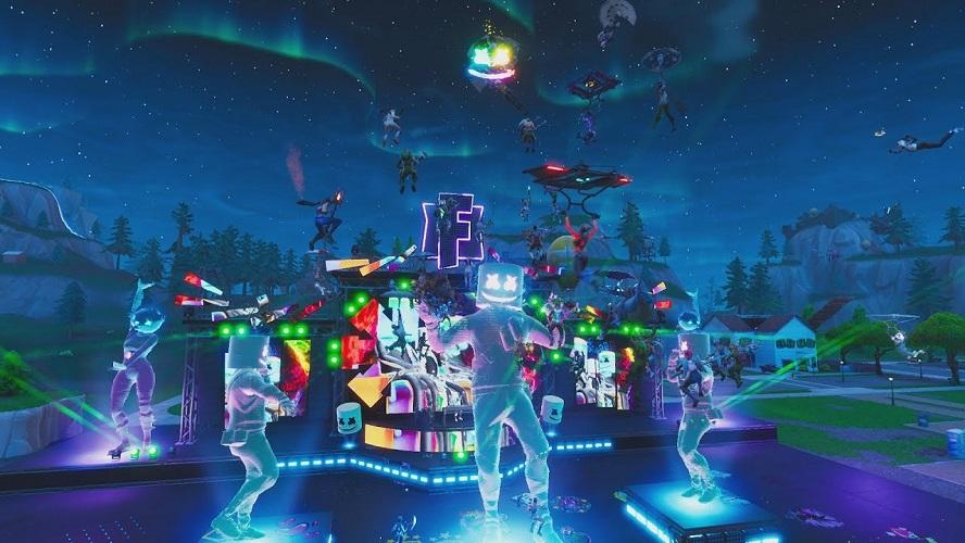 """Der Musiker und DJ Marshmello spielt ein Konzert in Fortnite im zweiten Jahr komplett mit Lasern und Neon """"width ="""" 888 """"height ="""" 500 """"srcset ="""" https://blog.turtlebeach.com/wp-content/uploads/2019/07/Fortnite'S-2nd-Birthday-Has-Brought-Bigger-Better-Events-With-It-Marshmello-Concert.jpg 888w, https://blog.turtlebeach.com/wp-content/uploads/2019/07/Fortnite'S-2nd-Birthday-Has-Brought-Bigger-Better-Events-With-It-Marshmello-Concert-300x169.jpg 300 W, https://blog.turtlebeach.com/wp-content/uploads/2019/07/Fortnite""""Sizes ="""" (max-width: 888px) 100vw, 888px"""
