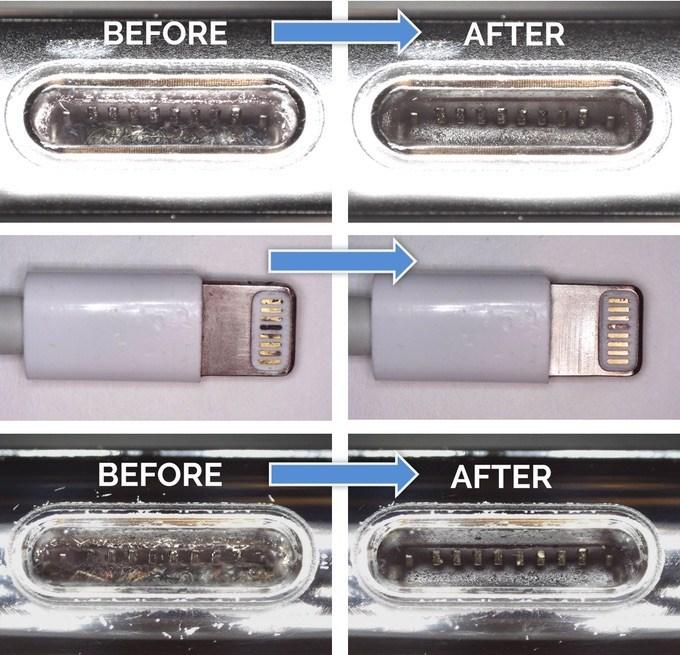 PurePort ist das Schweizer Taschenmesser für saubere iPhone-Anschlüsse und -Kabel 2