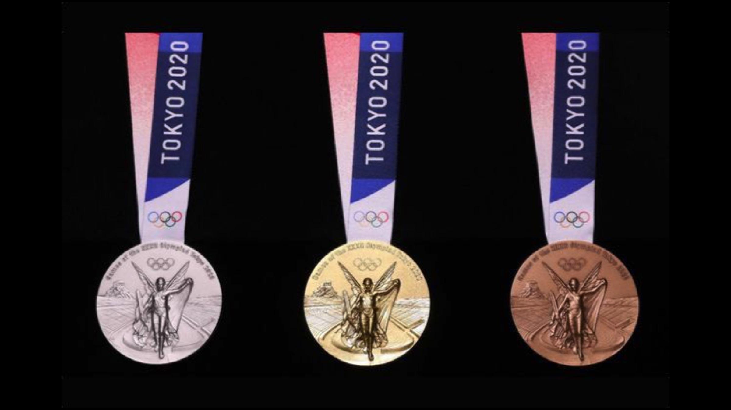 Die Medaillen für die Olympischen Spiele 2020 werden aus Gold hergestellt, das von alten Smartphones recycelt wird 2