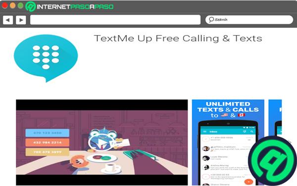 TextMe Up Kostenlose Anrufe & Texte