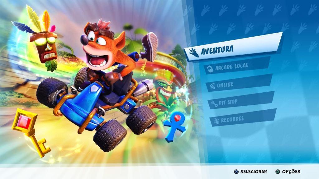 Bater o modo arcade Team Racing com combustível nitro.