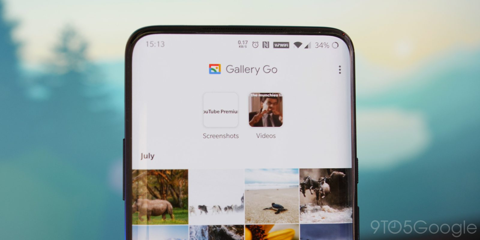 """Gallery Go"" ist Photos ""Lightweight Substitute"", das offline funktioniert"