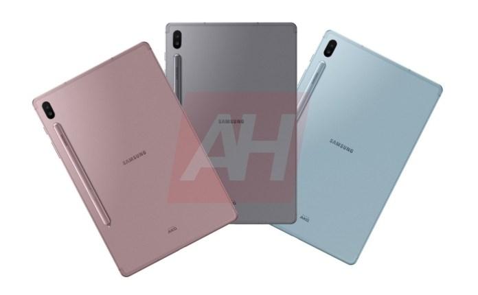 Gefilterte Bilder des nächsten Samsung Galaxy Tab S6 3