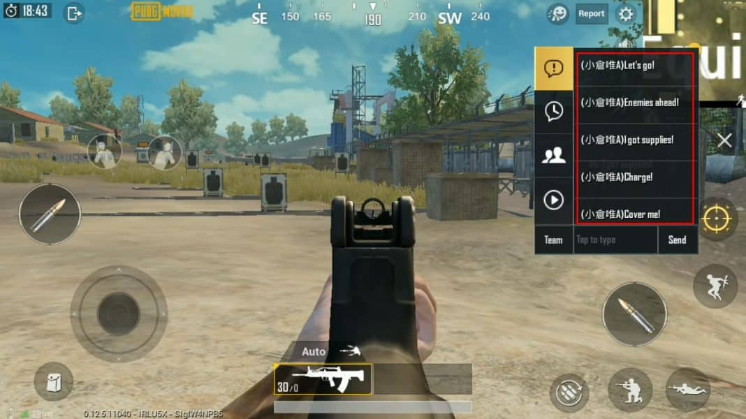 1 So Andern Sie Die Quick Chat Stimme In Pubg Mobile