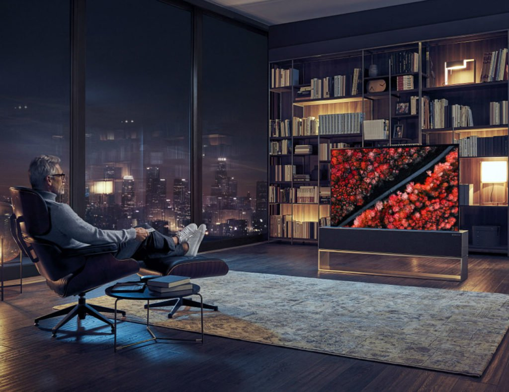 "LG Rollable OLED-Fernseher ""aria-describeby ="" gallery-20-356320"