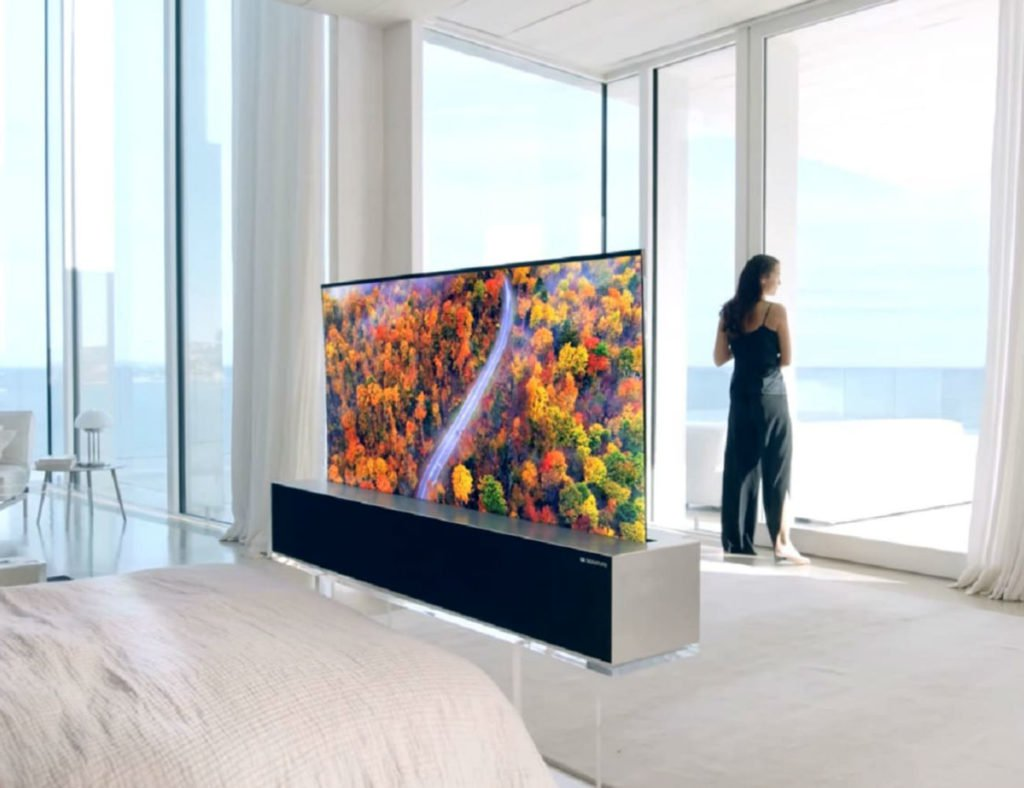 LG Rollable OLED-Fernseher
