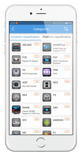 Faça o download do emulador HappyChick no iPhone 3