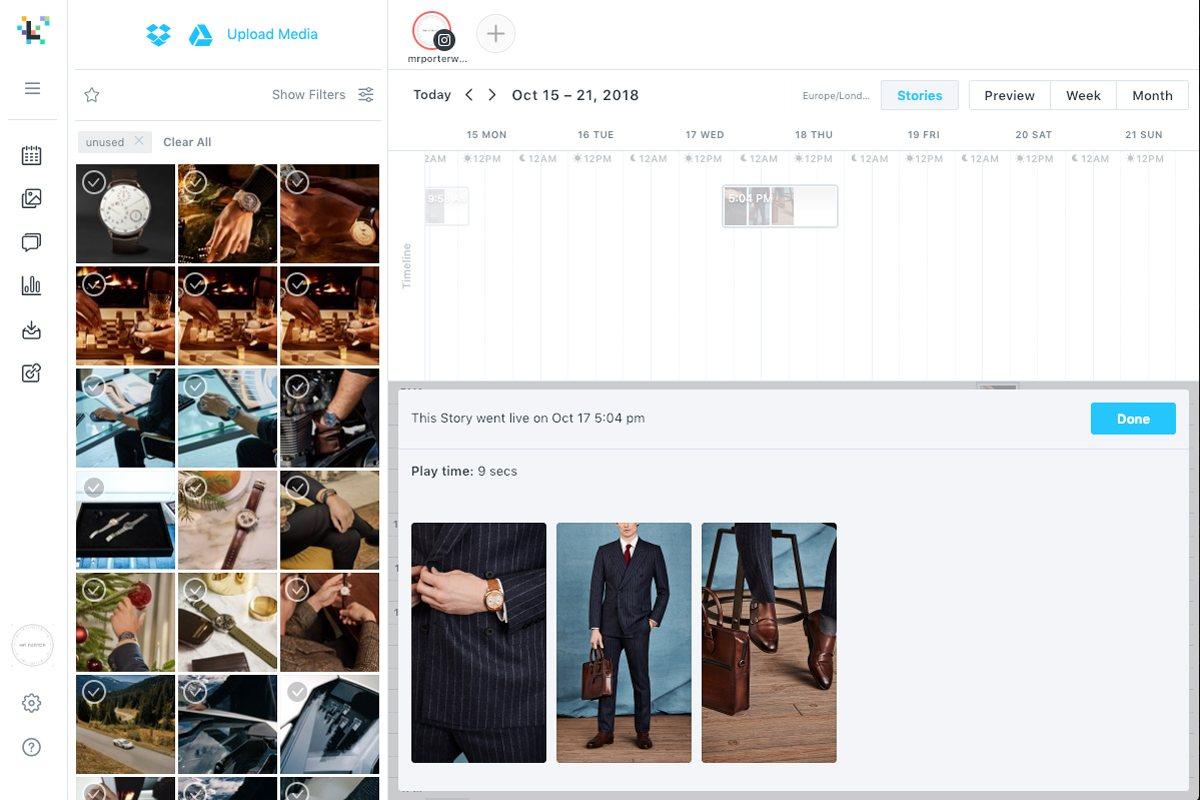6 Tipps zur Organisation Instagram Inhalt mit Later 9