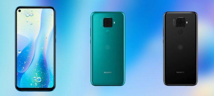 Das Huawei Nova 5i Pro folgt mit seiner quadratisch angeordneten Quad-Kamera der Mate-Linie