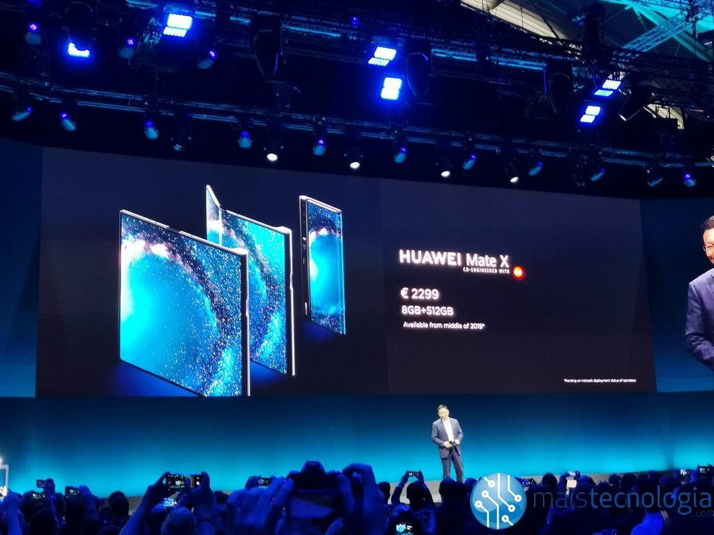 Huawei Mate X erscheint auf Plakaten in China und der Verkauf kann bald erfolgen 3