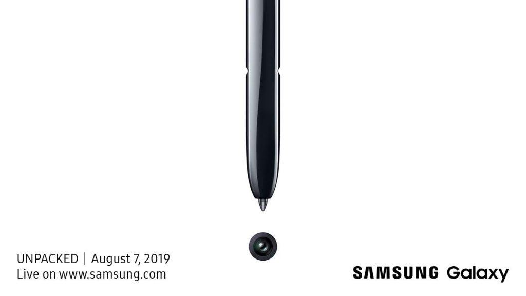 Samsung Galaxy Note  10 wird am 7. August vorgestellt 2