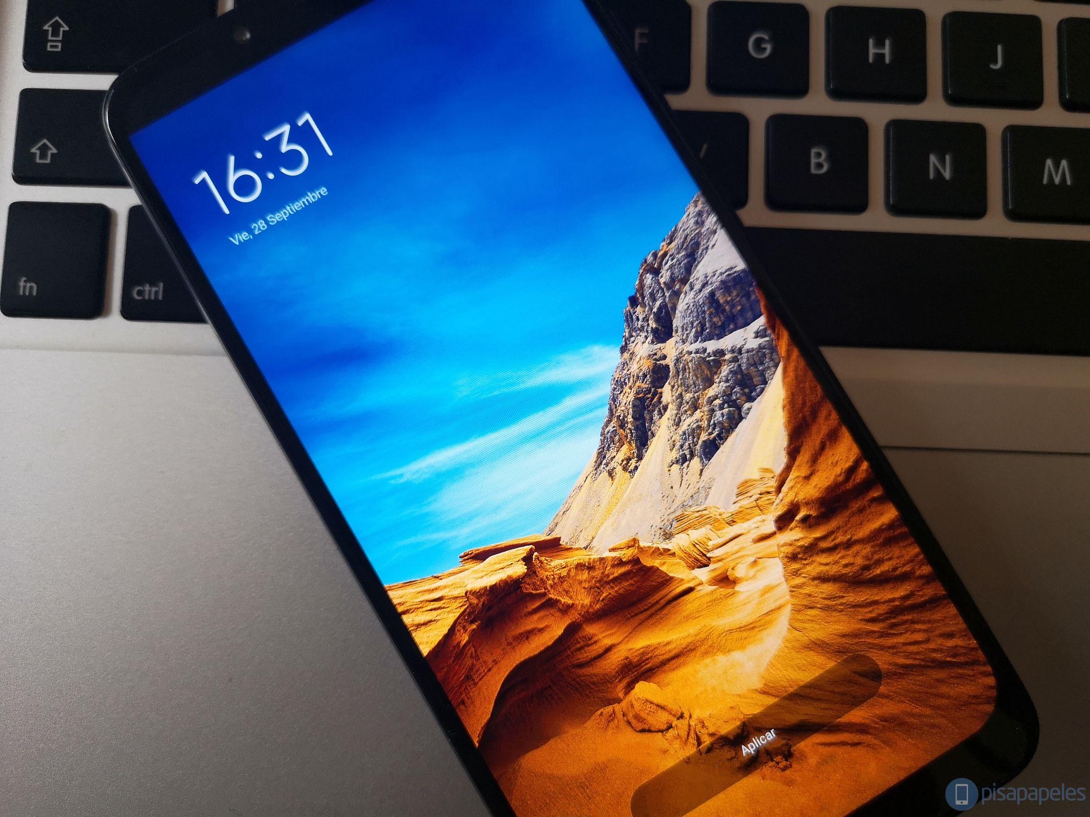 Bewertung Pocophone F1 von Xiaomi 9