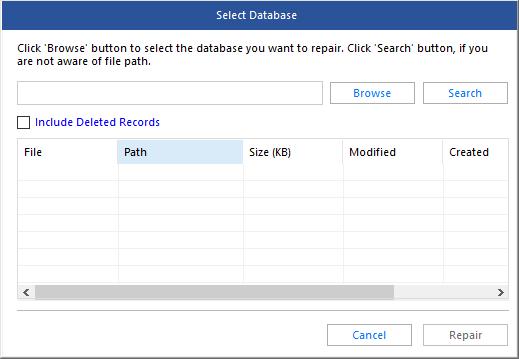 Verbinden Sie die Protokolldatei erneut mit der MDF-Datei 4