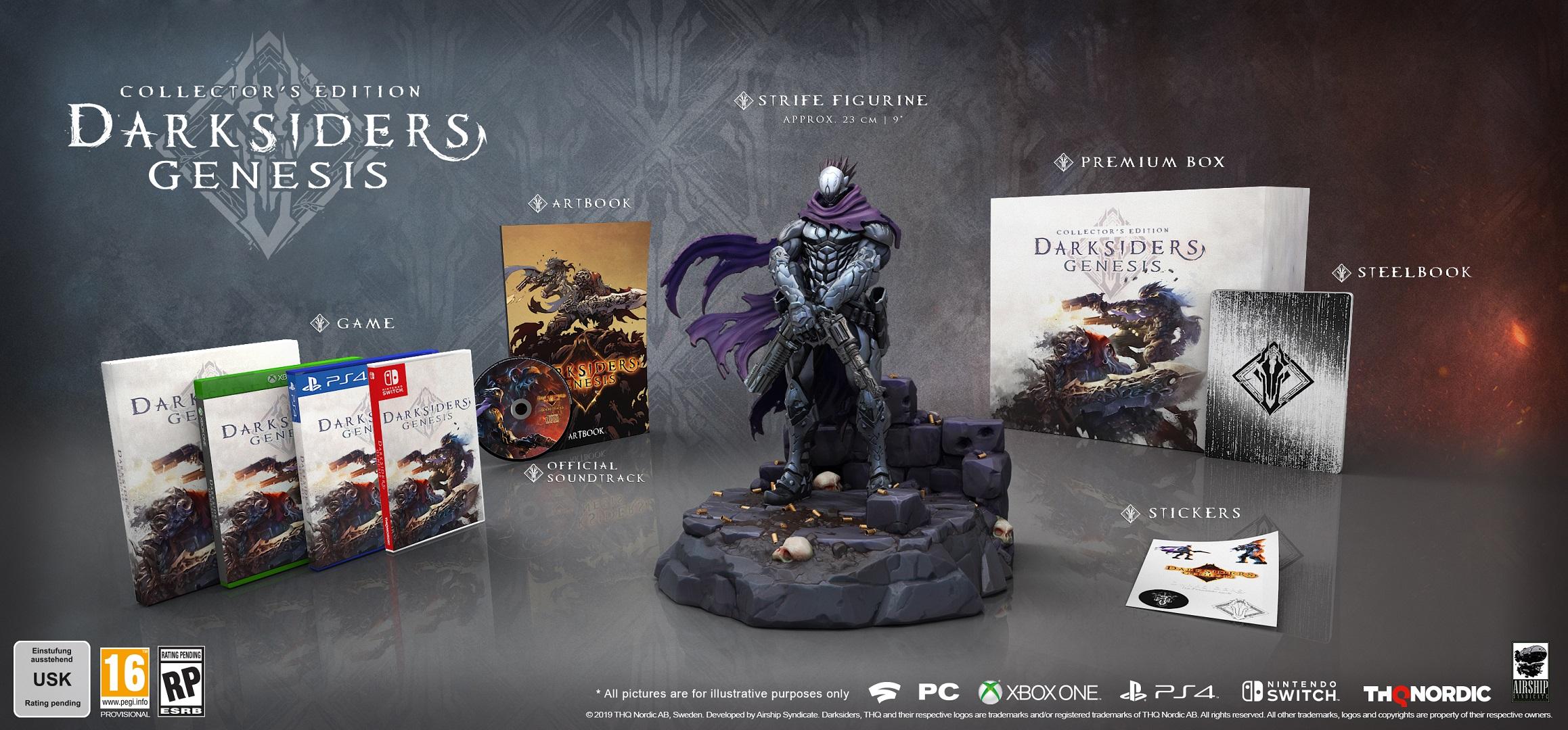 Collector's und Nephilim Edition für Darksiders Genesis angekündigt 1