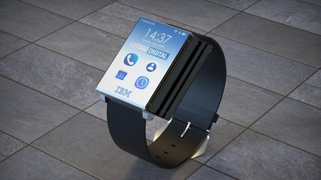 IBM Smartwatch in Smartphone
