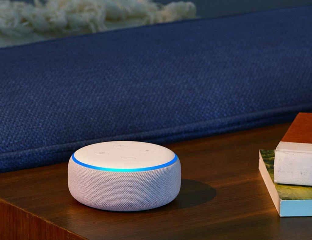 """Amazon  Echo Dot (3rd Gen) Smart Speaker """"aria-describeby ="""" gallery-9-357017"""