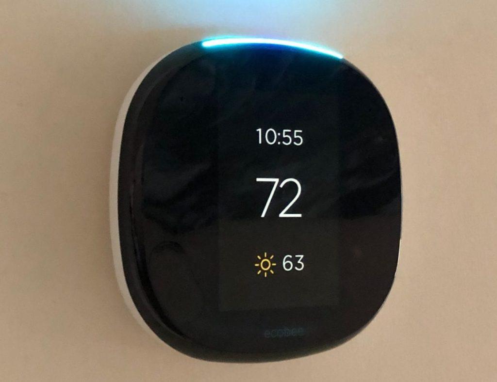 ecobee4 Raumfühler Alexa Thermostat