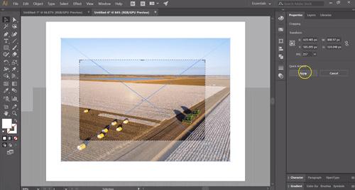 Beschneiden in Adobe Illustrator 2