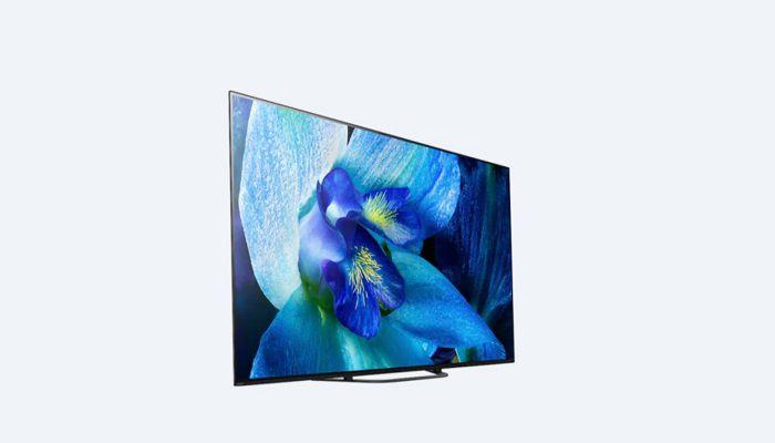 Lansio setiau teledu OLED Sony A9G ac A8G 4K yn India: pris, manylebau 2