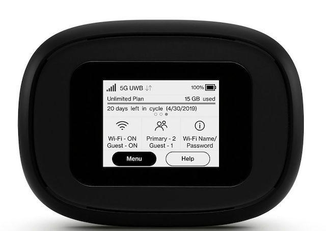 Verizons erster 5G-Hotspot ist da und nicht billig