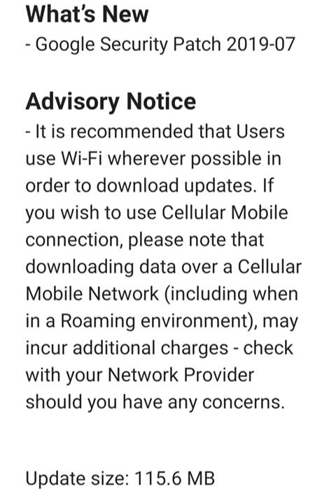 Juli-Update für Nokia 3.1 und Nokia 4.2 verfügbar, auch mit neuem Pie-Build 4