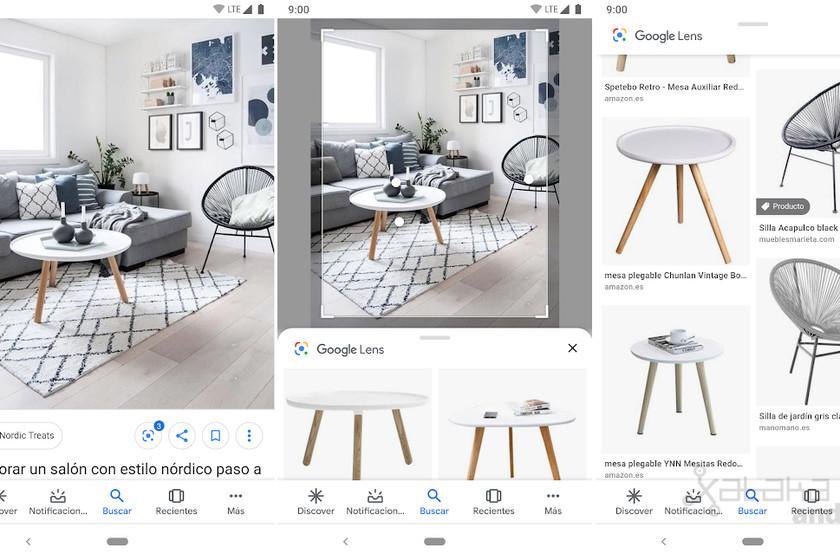 Verwendung von Google Lens in der Google-Bildersuche