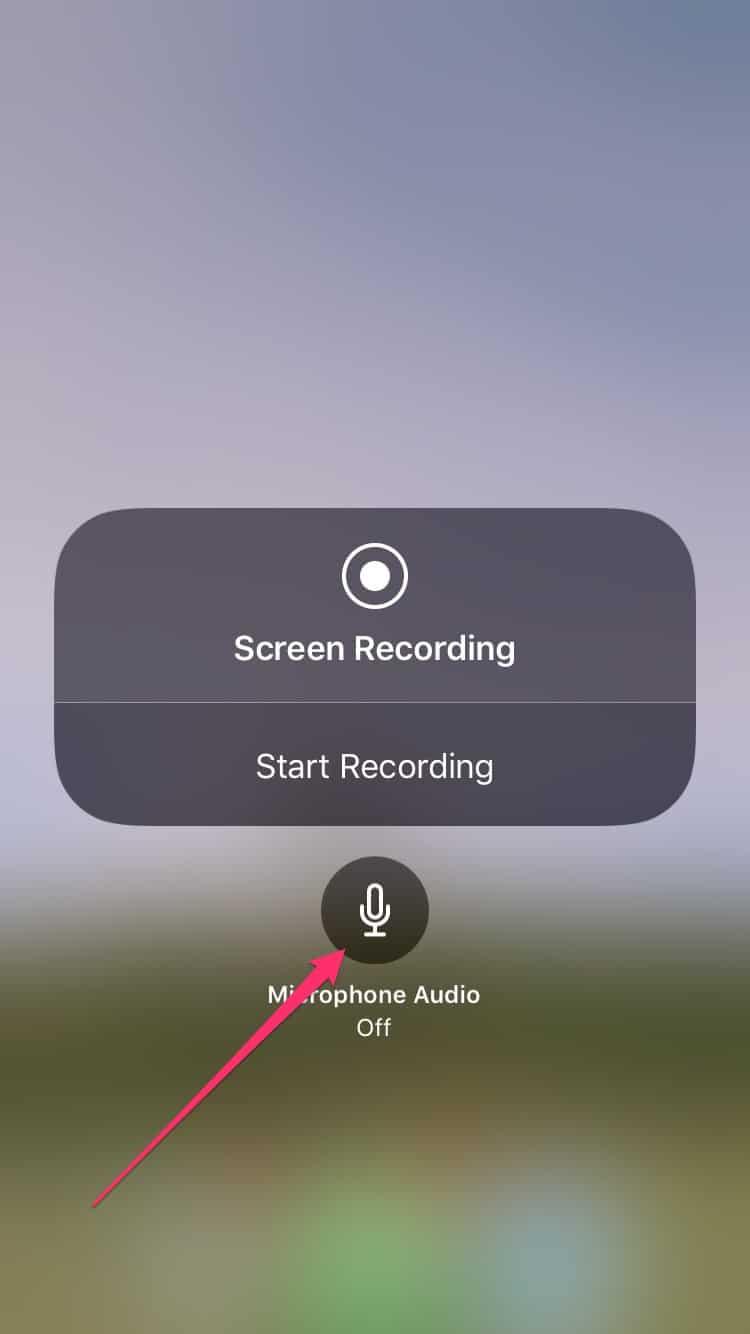 So zeichnen Sie den Bildschirm Ihres iPhones und iPads auf: iOS 11 und niedriger 4