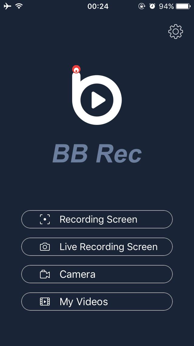 BB Rec - Kostenlose Bildschirmrekorder-App für iPhone & iPad