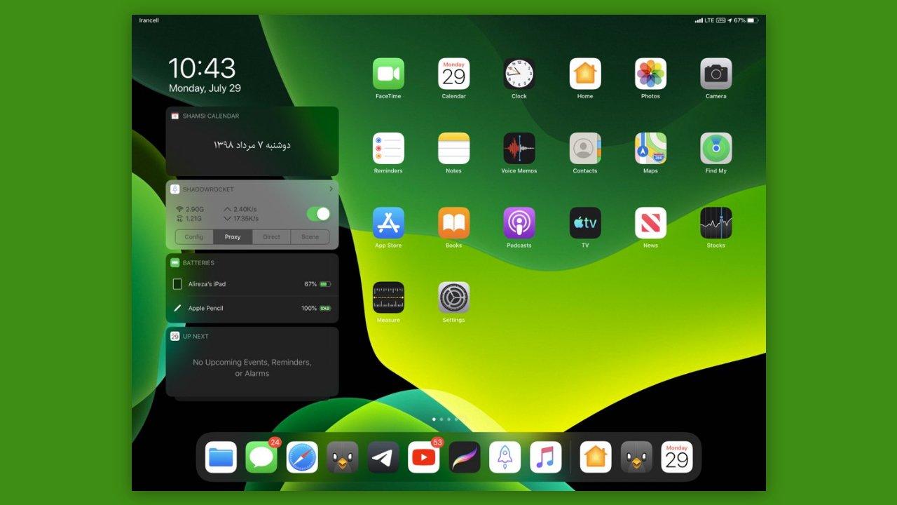 AppleGibt iPad-Nutzern (geringfügig) mehr Kontrolle über ihren Startbildschirm