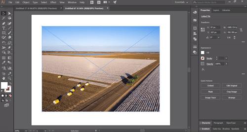 Beschneiden in Adobe Illustrator 1