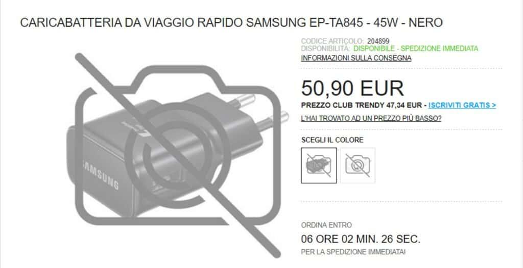 Samsung ep-ta845 45 Watt Ladegerät für die Galaxy Note  10