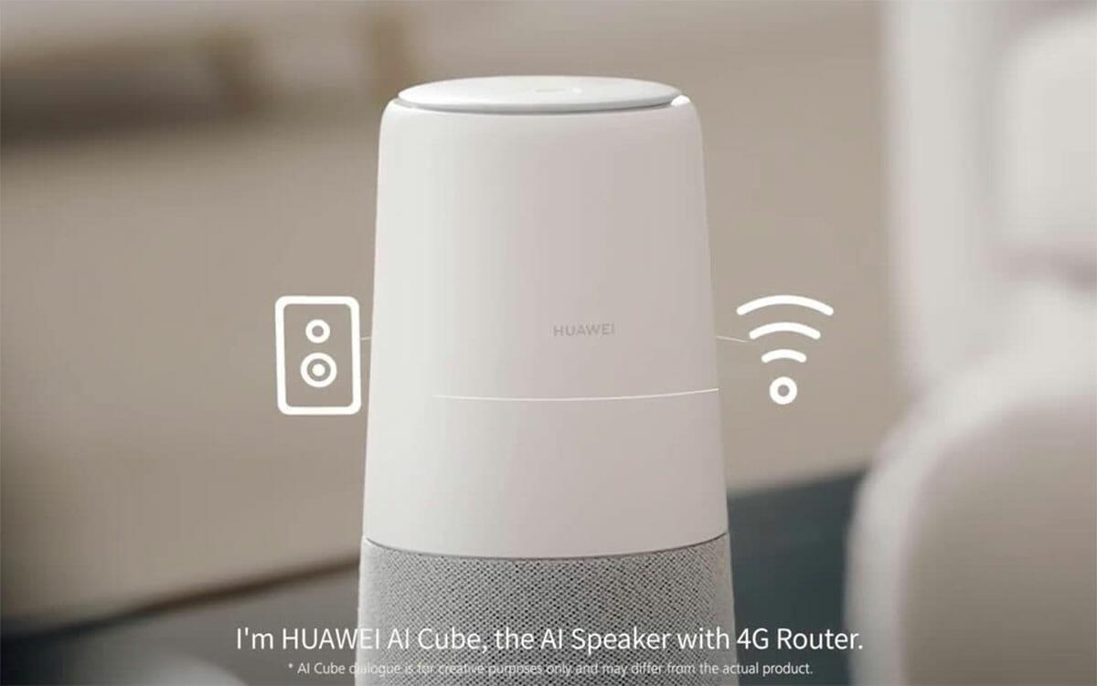 Der Huawei-Lautsprecher: aus US-amerikanischen Gründen gestrichen 1