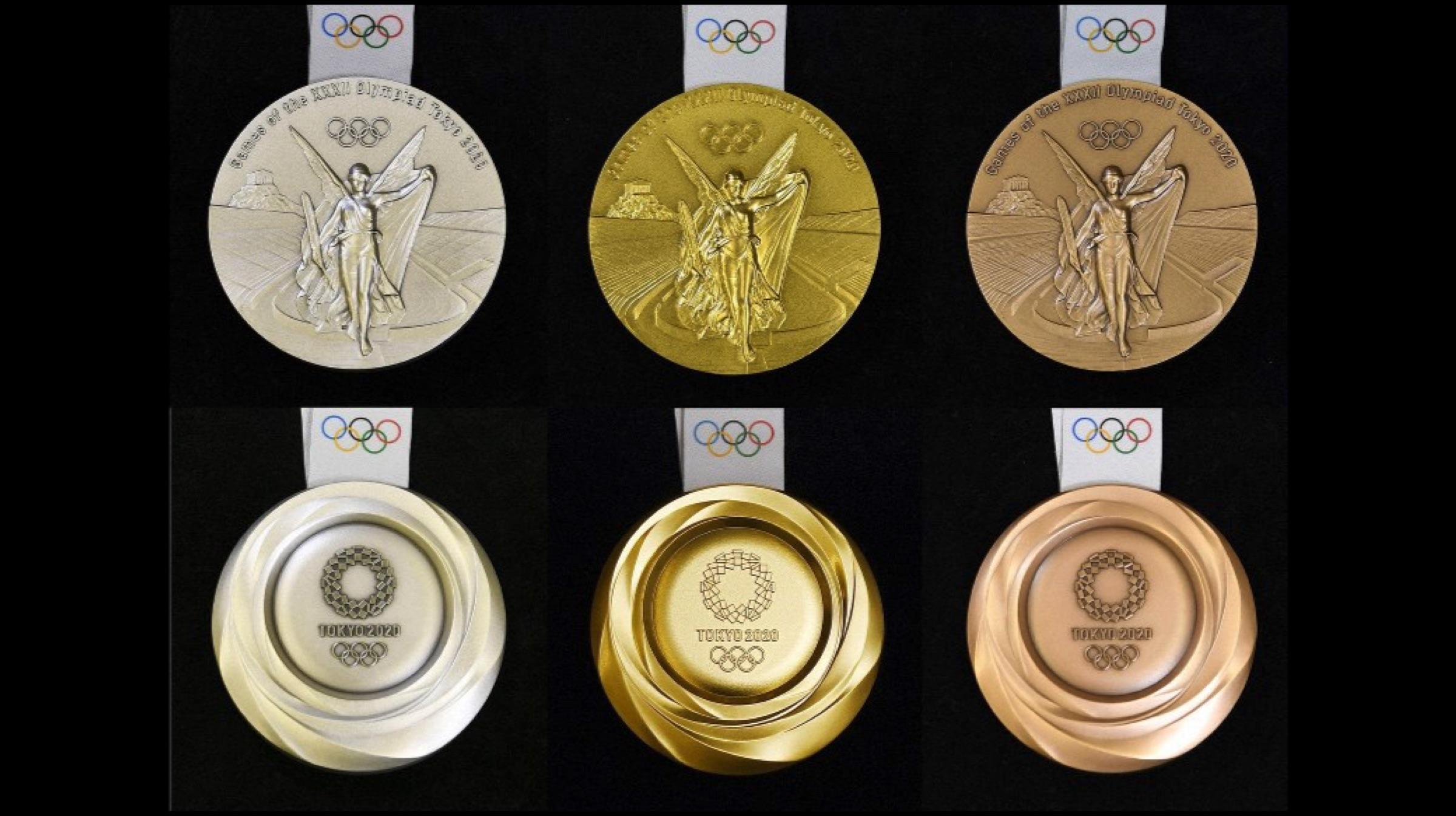 Die Medaillen für die Olympischen Spiele 2020 werden aus Gold hergestellt, das von alten Smartphones recycelt wird 1