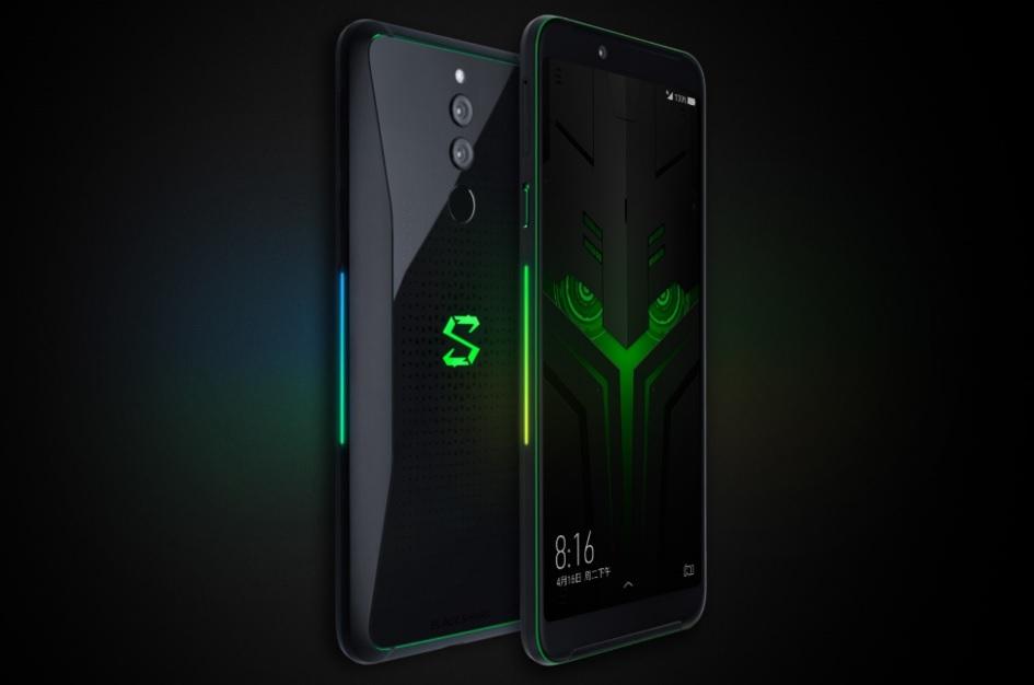 Filtert die Farb- und Speicheroptionen des Smartphones für das Black Shark 2 Pro-Spiel 1