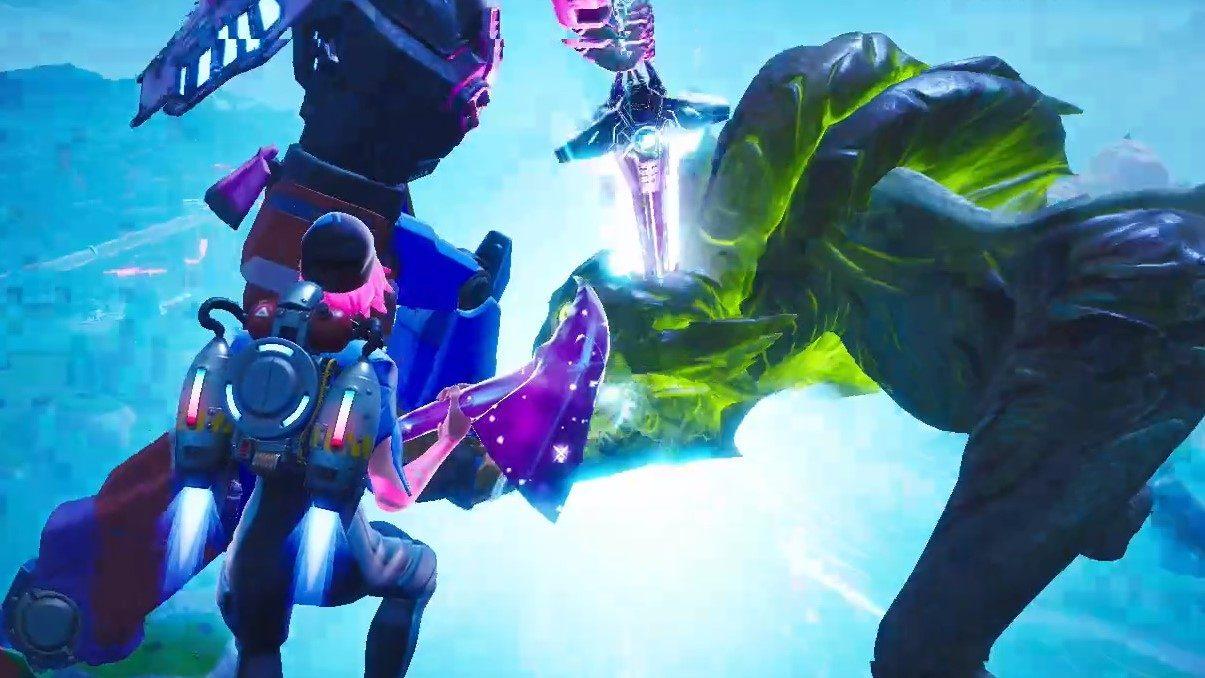 Fortnite Staffel 9 endet mit einem epischen Kaiju-Mecha-Kampf 1