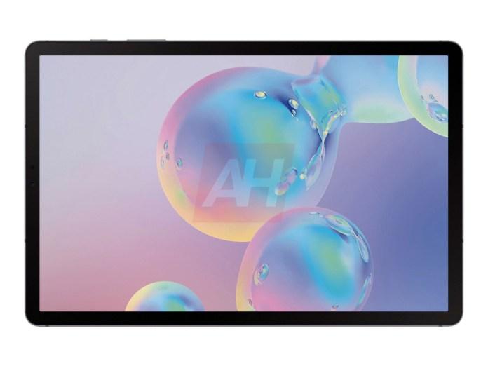 Gefilterte Bilder des nächsten Samsung Galaxy Tab S6 1