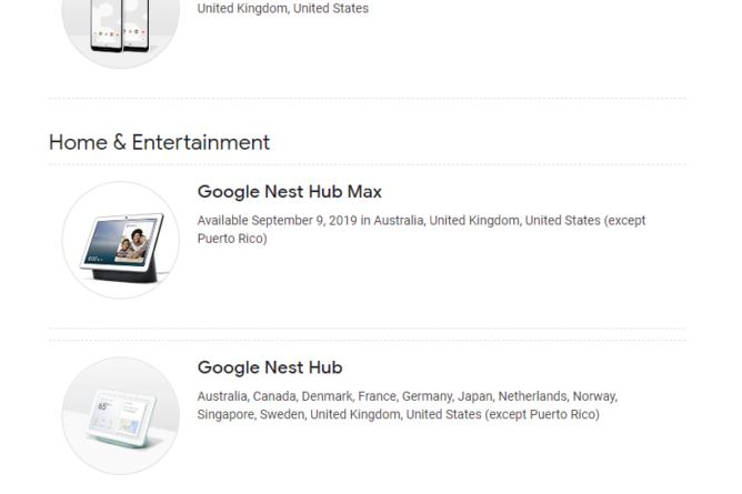 Google Nest Hub Max kommt offiziell am 9. September in den USA, Großbritannien und Australien an 2