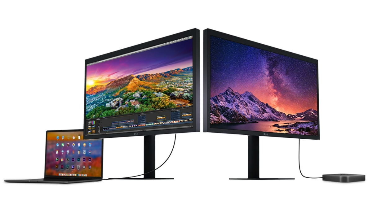 LG UltraFine 5K Display Updated to Support Latest MacBook Pro, iPad Pro Models