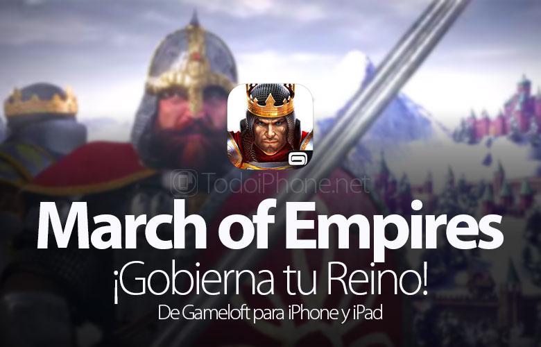 March of Empires kommt: Beherrsche dein Königreich! von Gameloft 1