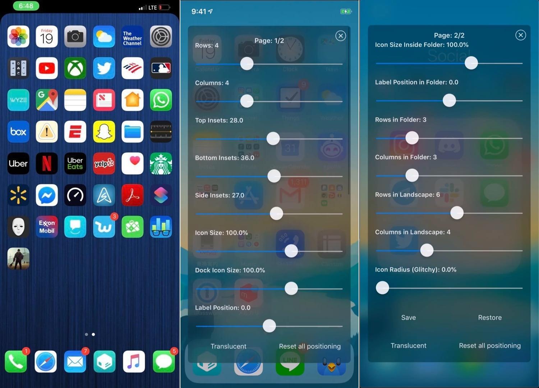 Mit Iconator2 können Sie das Layout Ihres iPhone-Startbildschirms steuern 1