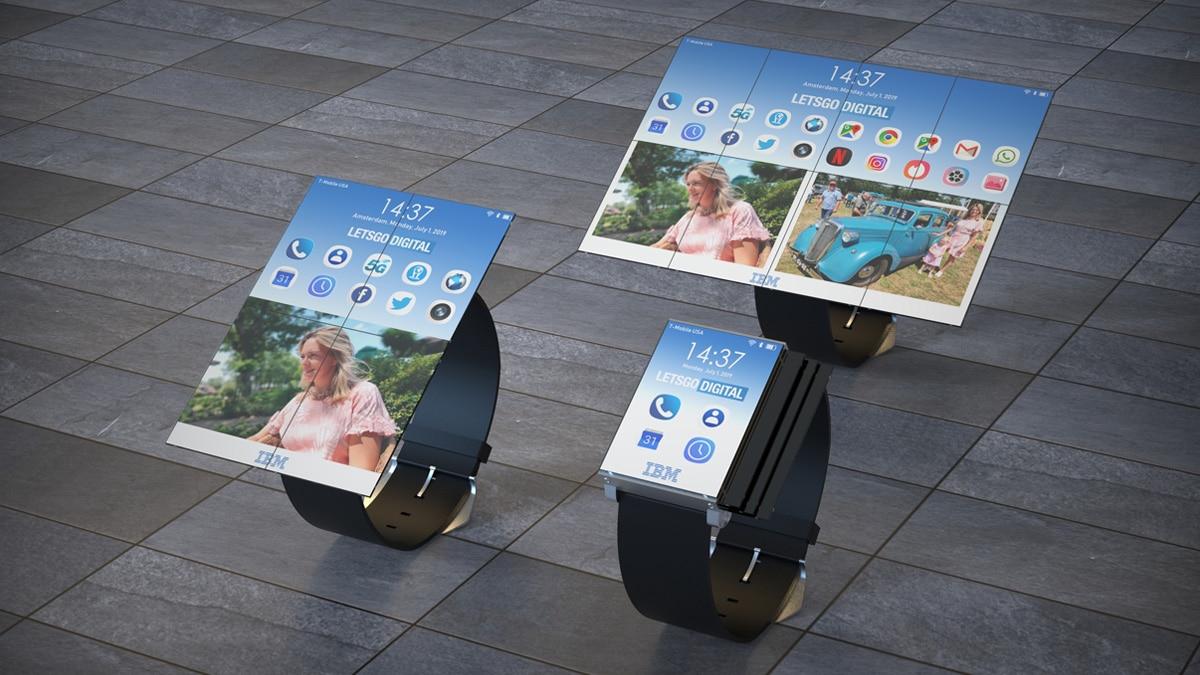 Nutzen Sie die neue IBM Smartwatch auch als Smartphone und Tablet 1