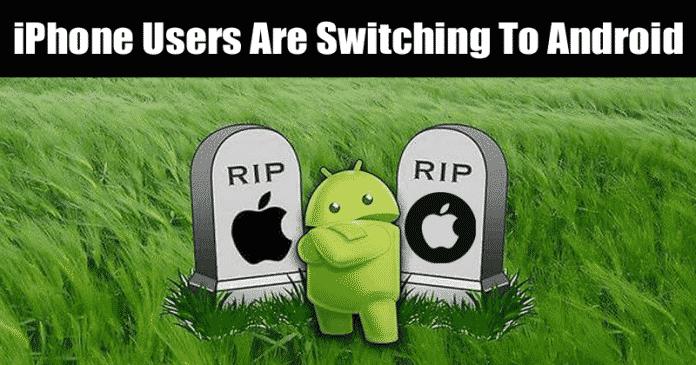 OH MEIN GOTT! iPhone-Nutzer wechseln zu Android