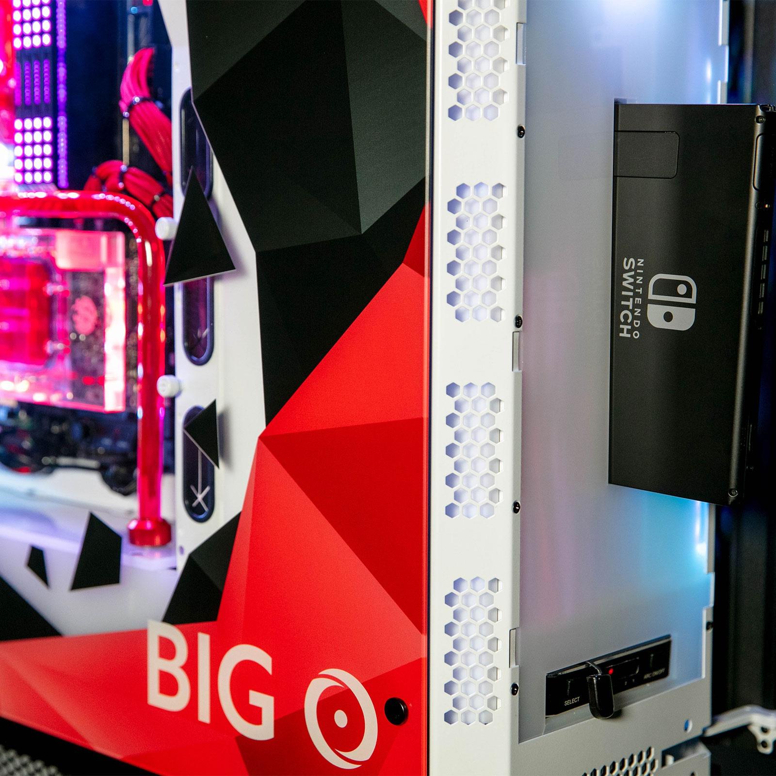 Origin Big O: Verbindung zwischen PC Gamer, Xbox One X, PS4 Pro und Switchalles im selben Fall 1