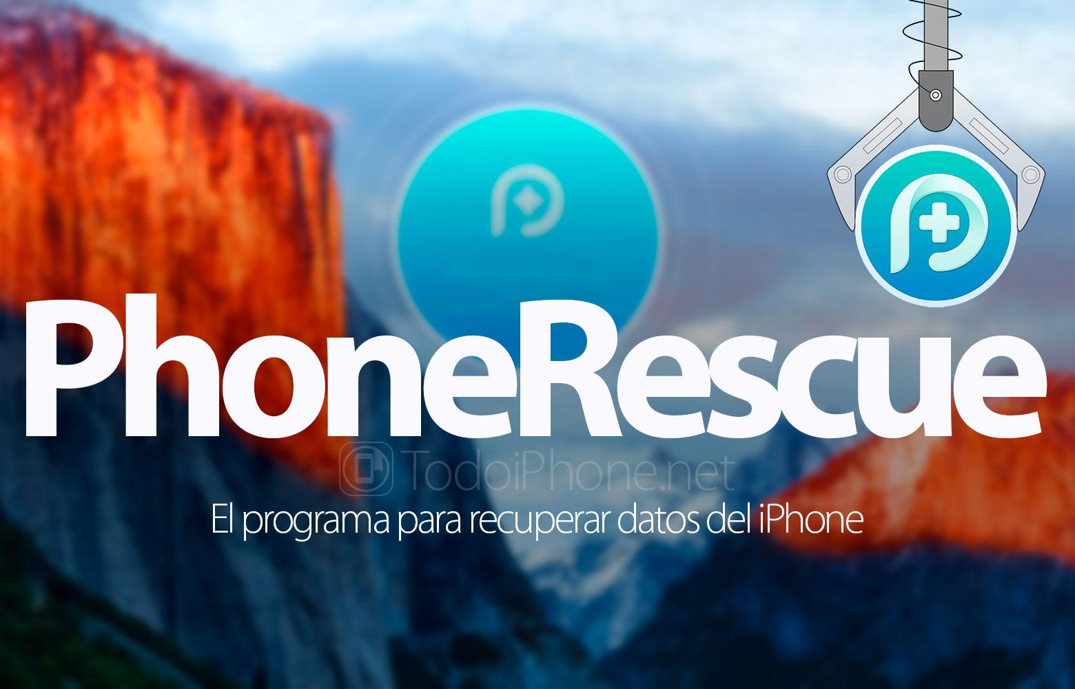 PhoneRescue stellt verlorene Daten von Ihrem iPhone und iPad wieder her 1