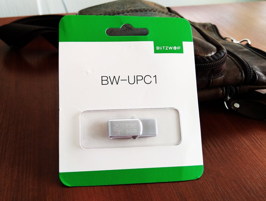 Preiswerter doppelseitiger BlitzWolf BW-UPC1,2-in-1 Typ-C / USB 3.0 USB-Stick 1