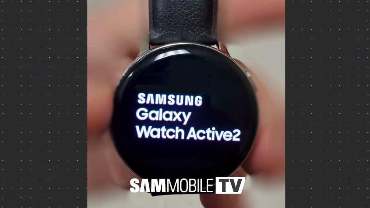 Samsung Galaxy Sehen Sie sich Active 2-Fotos an, die in zwei Varianten veröffentlicht werden 1